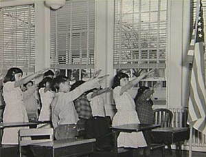 american-school-children-bellamy-salute