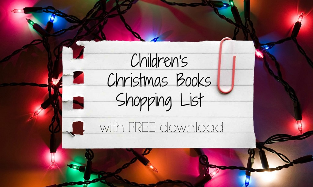 children's christmas books shopping list